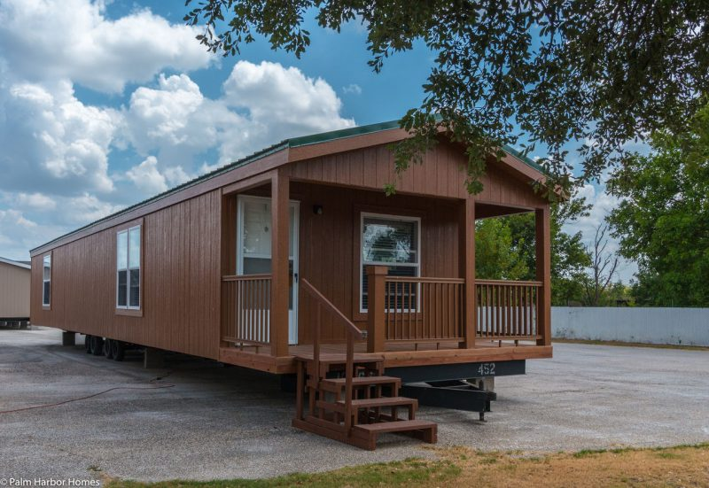 the cabana iii manufactured home cabin exterior side angle 1280 8 - 8